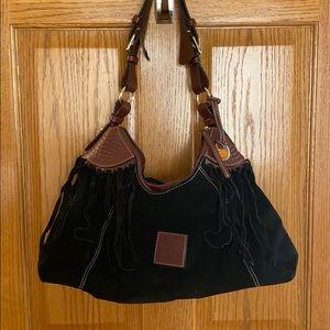 Dooney&Bourke suede handbag